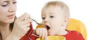 alimentación del niño menor de un año