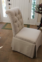 How to Diamond Tuft Upholster a Chair