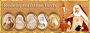 + To Redemptoristine Texts +