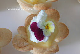 Lemon Flower Tarts