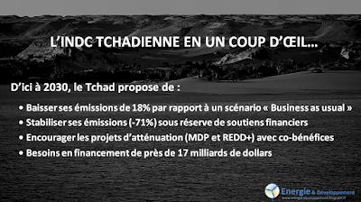 INDC tchadienne : les engagements pour le climat du du Tchad avant la COP21