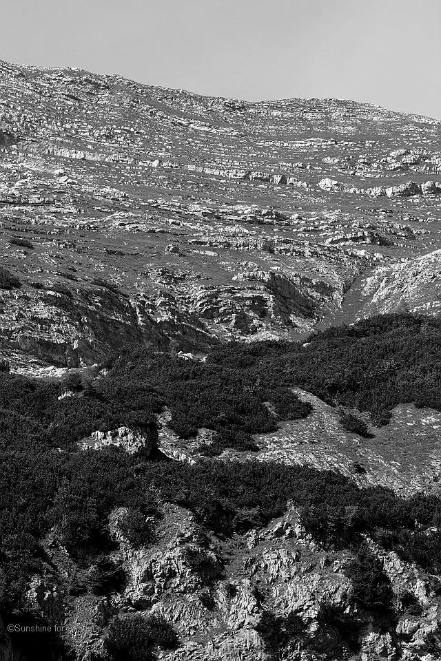 Death mountain range in Austria