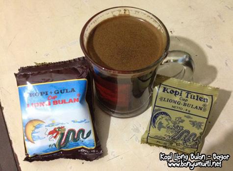 Kuliner Bogor - Liong Bulan, Kopi Khas Bogor