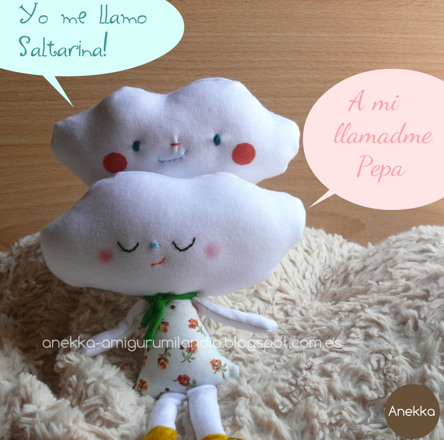 handmade doll  amigurumilandia