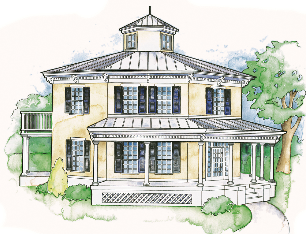 The Octagon House The Shape Description And Style