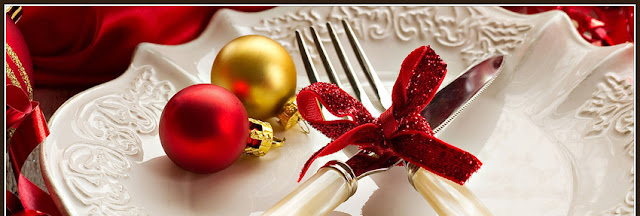 christmas place setting cover photos