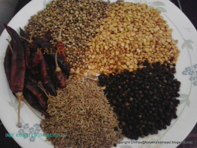 madras rasam powder