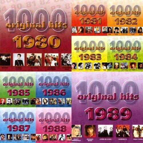 1000 ORIGINAL HITS 1950 1999 1980 Al 1989