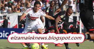 أحمد توفيق لاعب وسط الزمالك الدولي