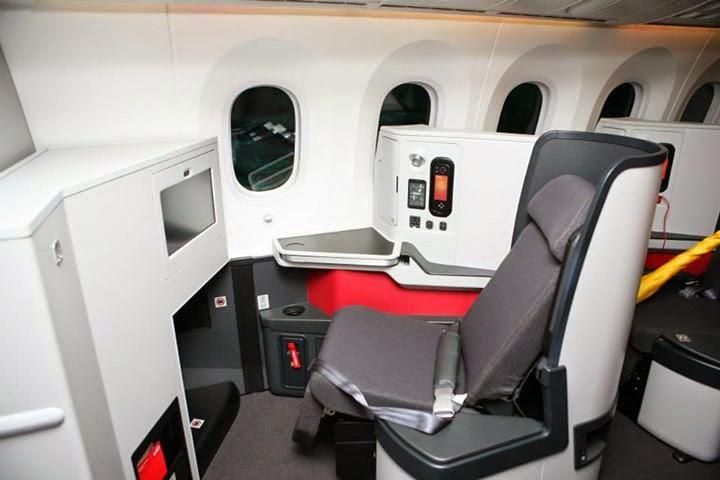 Aviaci n de chile tres l neas a reas ya operan el 787 en for Interior 787 aeromexico