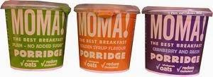 MOMA breakfast porridge oats