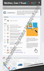 Infographie : faire confiance à Google?