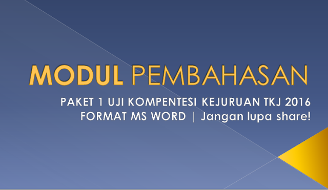 Modul Pembahasan Soal UKK TKJ 2016 Paket 1 Gateway Internet, Web Server dan DNS Server OS Debian Server2