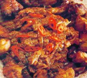Sensation of Fried Chicken Terasi
