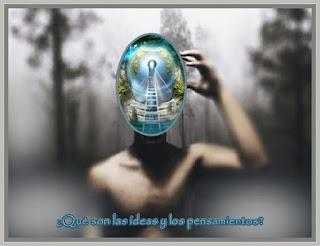 Querido, las ideas te llegan sin que las pidas, son pensamientos diminutos, algunos pueden ser nuevos y otros recurrentes.