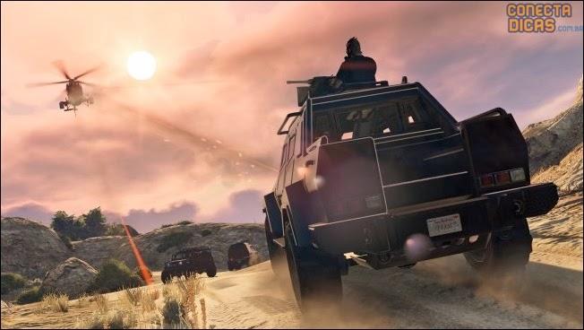 Heists GTA V - Carro novo blindado com arma em cima
