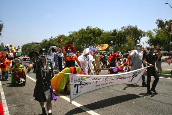 Sisters of Perpetual Indulgence West Hollywood Pride Parade 2014