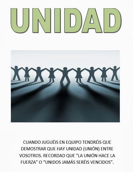 """Valor de """"Unidad"""""""