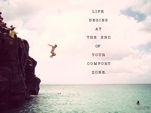 Quotes About Endings And Beginnings Life Begins at The End of Your