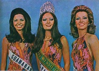 1973 - Top Tres Miss Universo Brasil