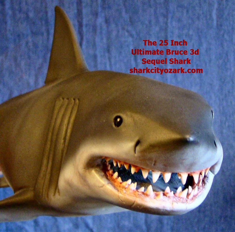 Jaws Rubber Shark Toy : New a inch jaws collectible shark from city ozark