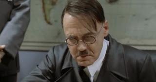 Hitler upset