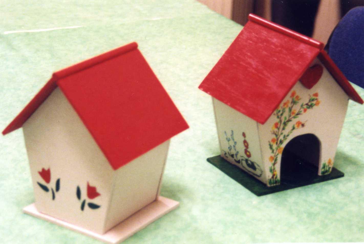 Fabriquer Une Cabane En Bois Pour Oiseaux : Nous avions d?cid? de faire des petites maisons pour oiseaux.