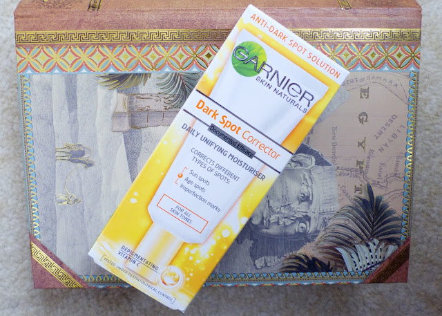 Garner Dark Spot Corrector Review daily unifying moisturiser skincare