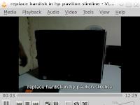 cara mengganti hardisk yang rusak pada komputer HP Pavilion Slimline