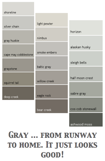 A Color Specialist In Charlotte What Colors Go With Gray