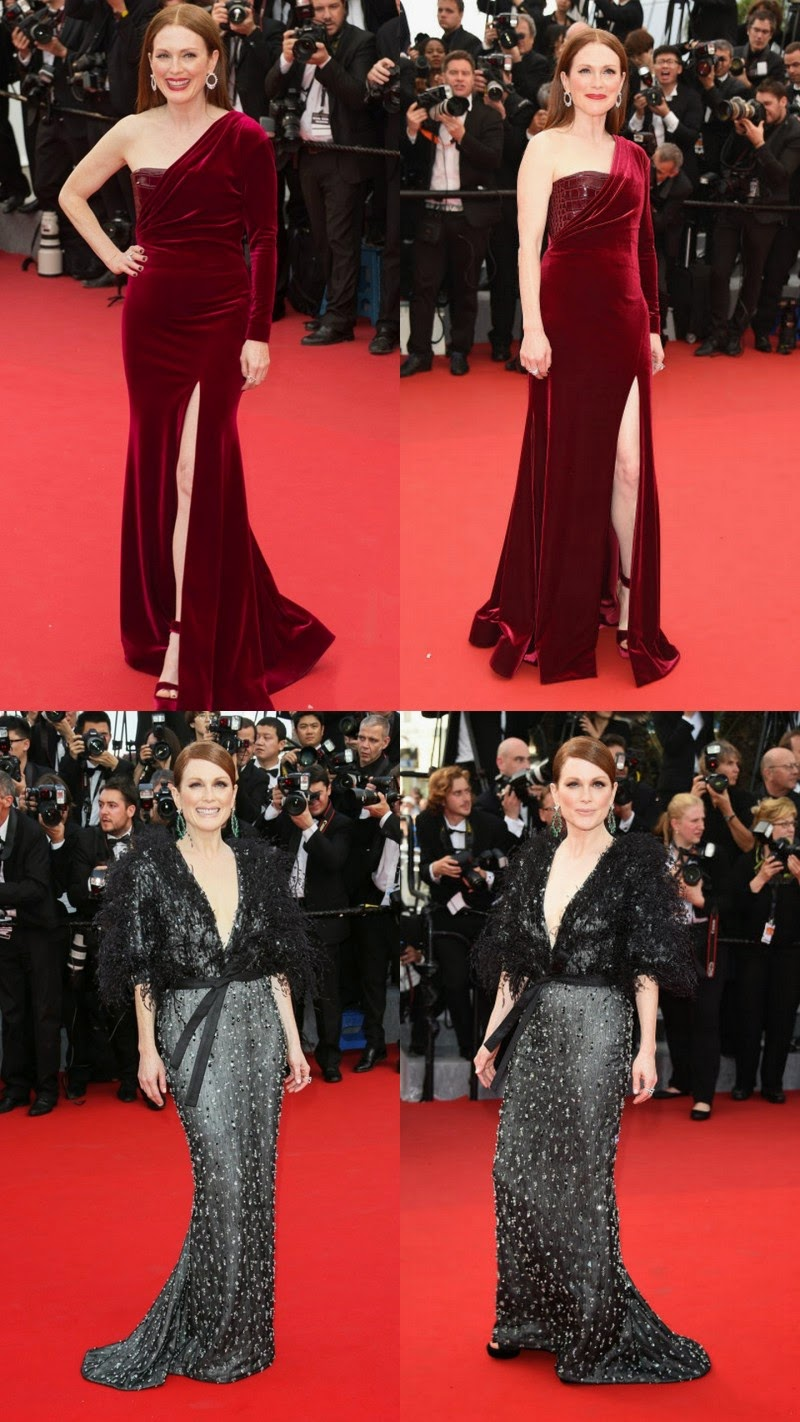 Cannes 2015: Julianne Moore Walk on Red Carpet in Red