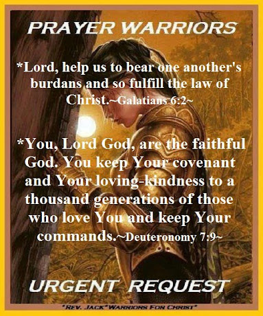 *MIGHT PRAYER WARRIORS FOR CHRIST!*