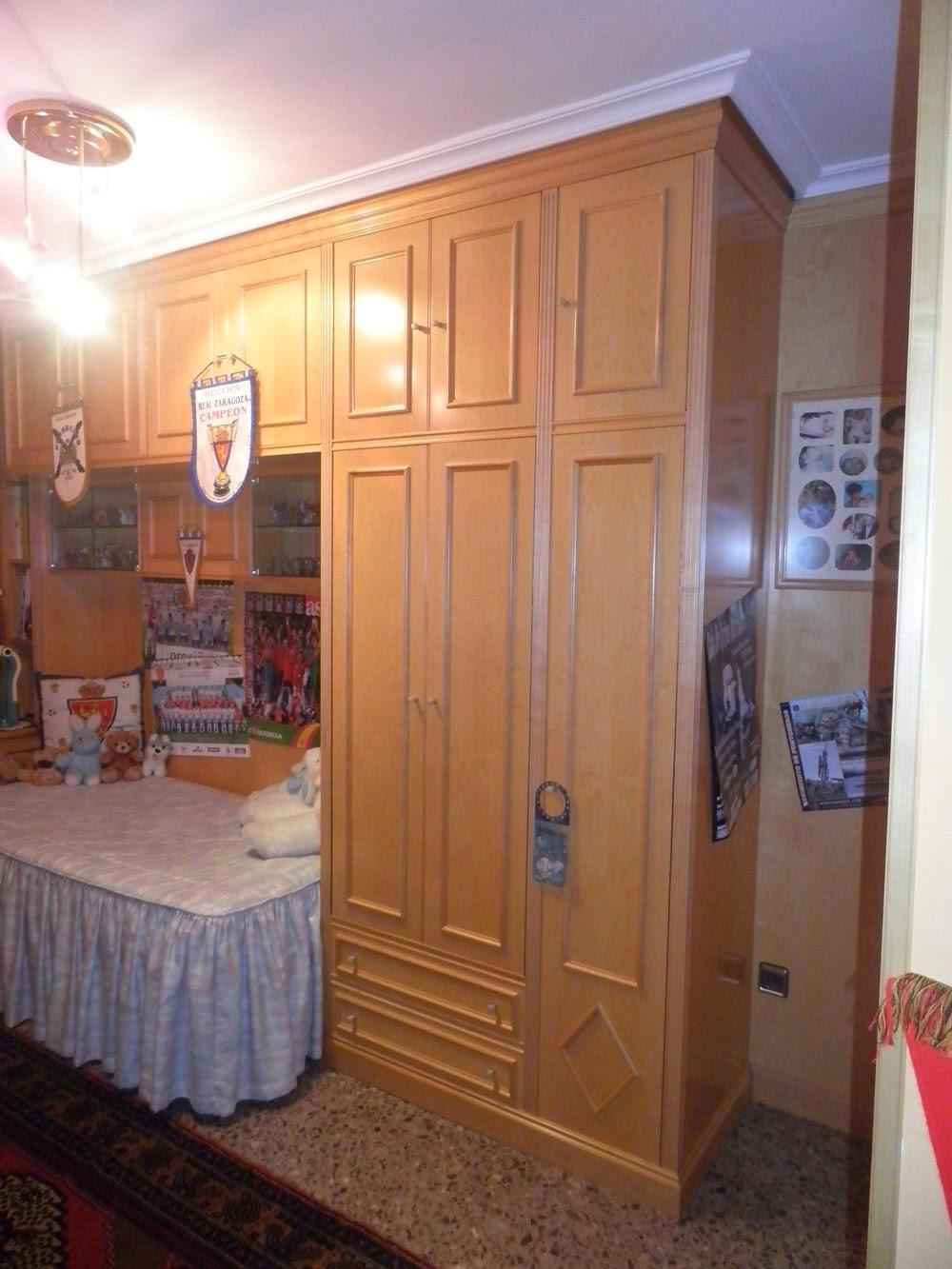 Dormitorio juvenil muebles cansado zaragoza Armario puente juvenil