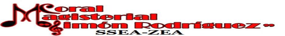 CORAL MAGISTERIAL SIMÓN RODRÍGUEZ