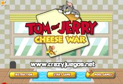 Jugar Tom y Jerry por el Queso