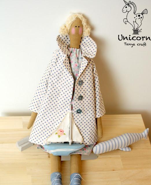 Выкройка сапог для куклы