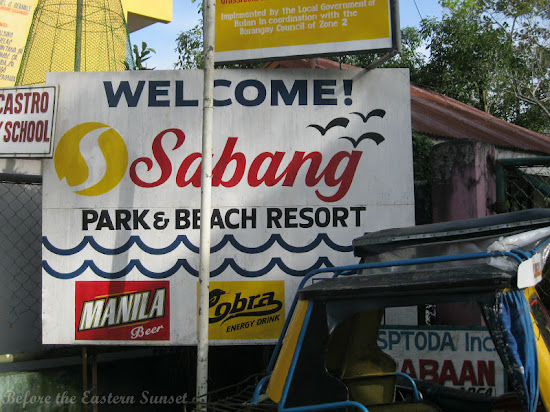 Sabang Beach Park and Beach Reost in Bulan, Bicolandia