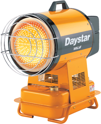 Daystar Val 6 portable heater for rent
