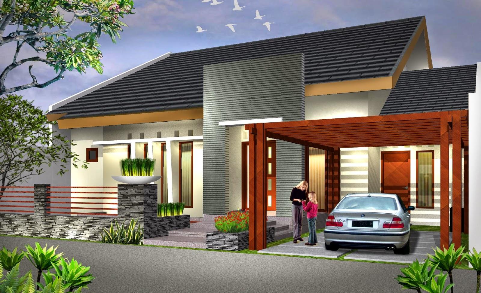 Model Rumah Minimalis Modern Design Rumah Minimalis
