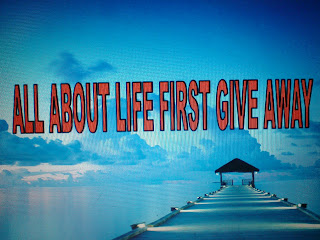 Give Away Pertama Dari All About Life