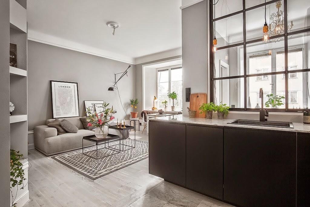 Grandes ideas para un apartamento peque o decorar tu for Ideas para un apartamento pequeno