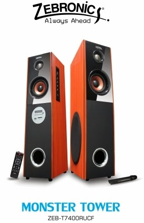 Zebronics Introduces New Tower Speakers