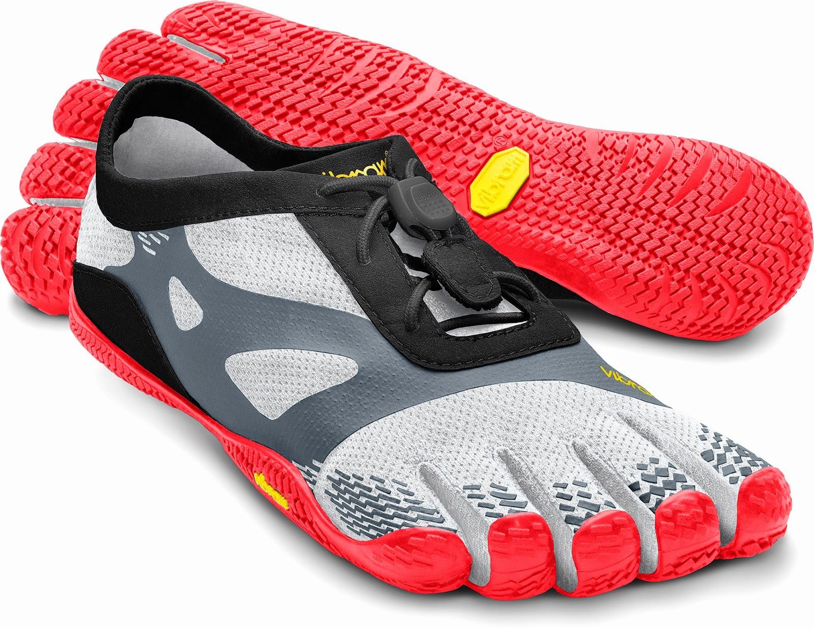 Tênis Vibram Five Fingers - Sensação de andar descalço