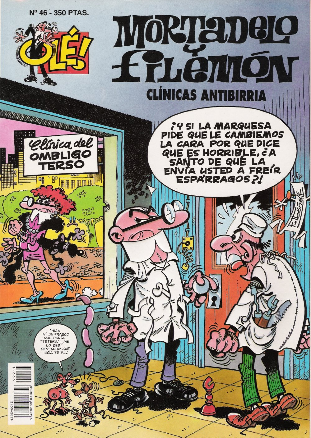 Clínicas Antibirria - Mortadelo y Filemón