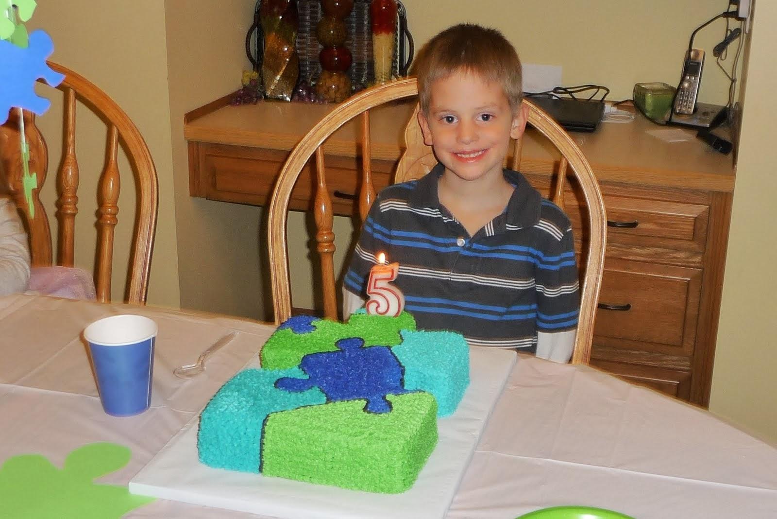 Liam age 5