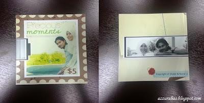 Photobook, Contoh Muka Depan dan Belakang, Precious Moments, Mini Square