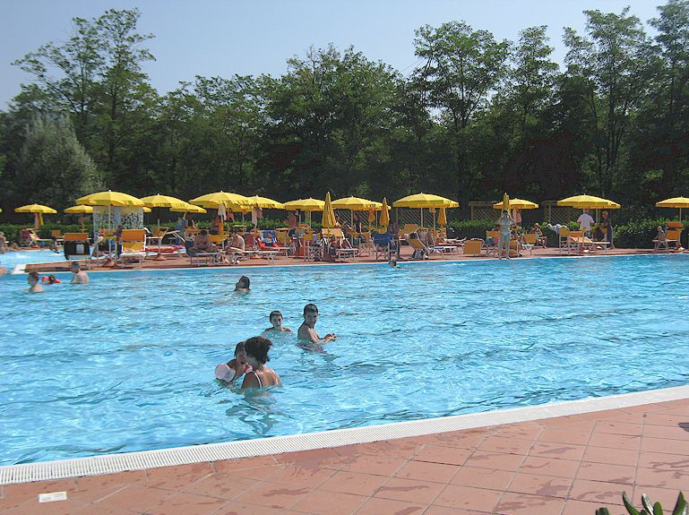 Greve In Chianti Public Swimming Pool In Tuscany