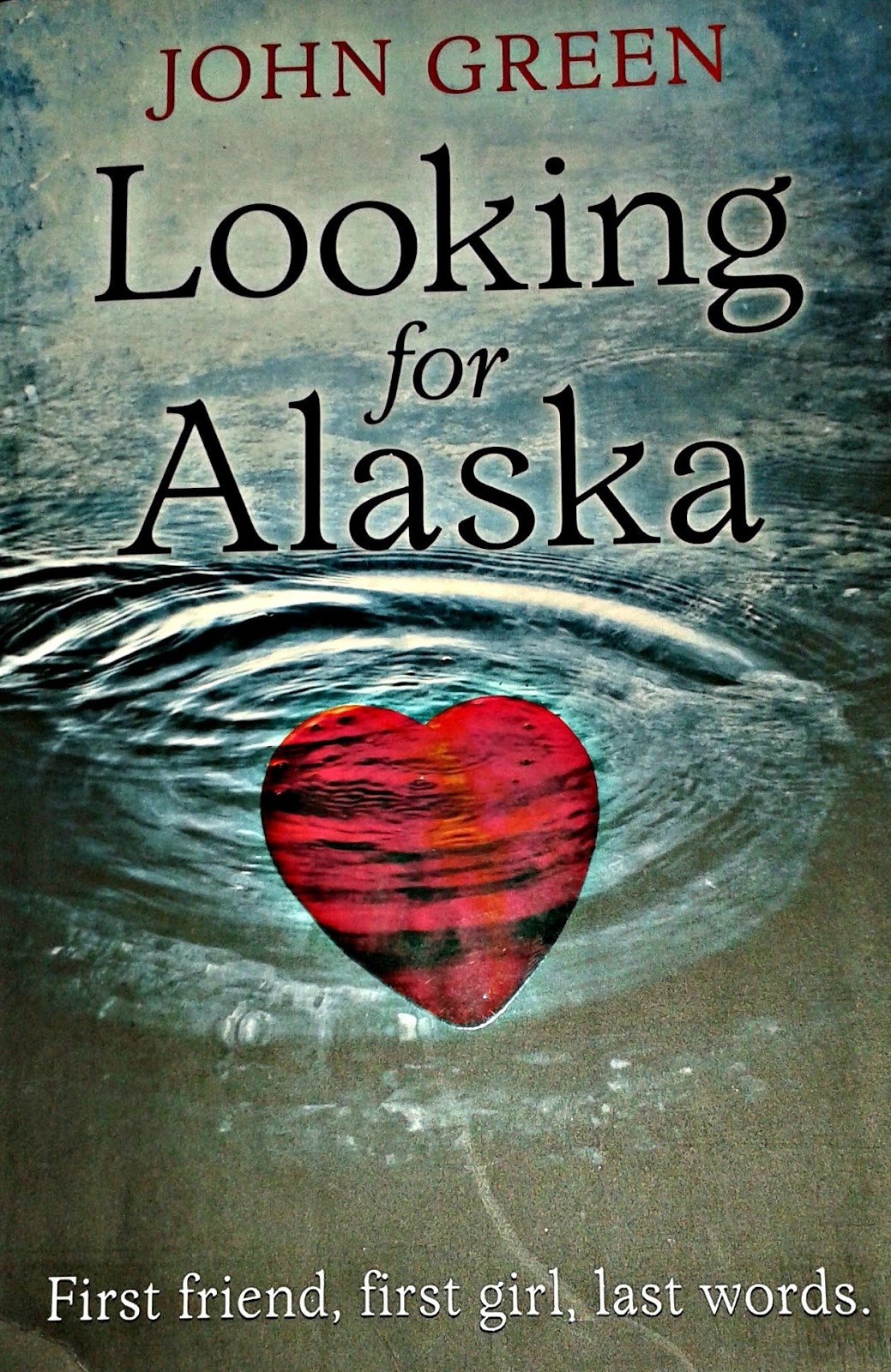 looking for alaska novel structure essay Looking for alaska by john green saved essays the novel, looking for alaska, was written by thirty seven year old author john green.
