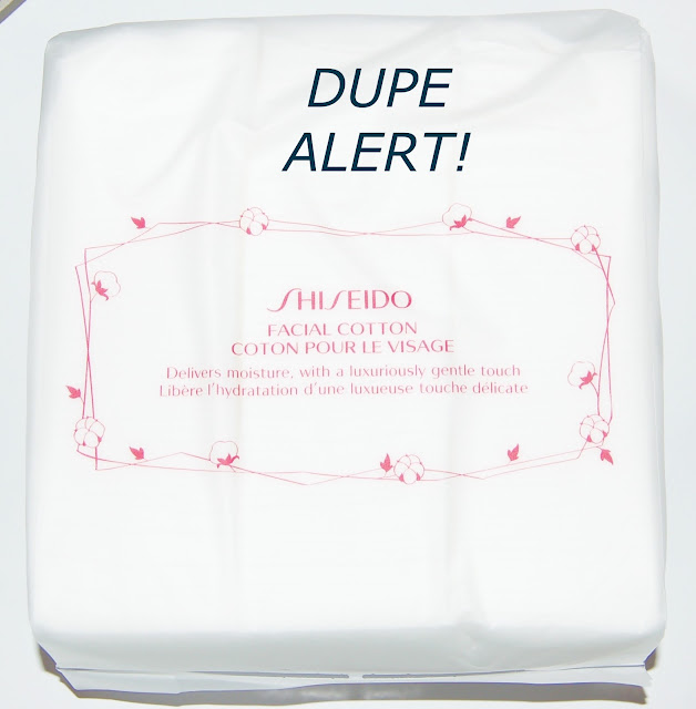 Shiseido Facial Cotton Dupe