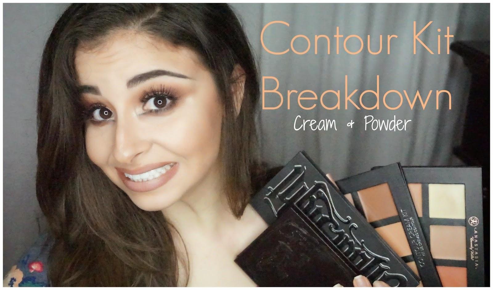 Very Popular And You Might Enjoy: My Contour Kit Breakdown; Both Cream &  Powder